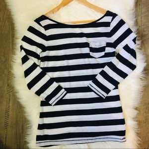 Stripped Abercrombie and fitch shirt